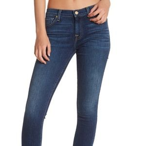 NWT 7 For All Mankind skinny jeans